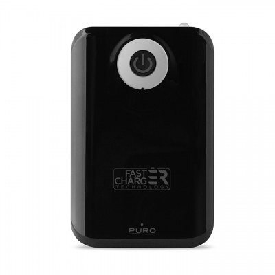 Powerbank Puro 9000mAh - Mαύρο (FCBB90C1BLK)