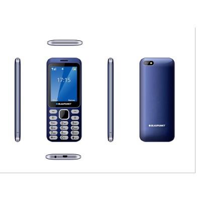 "BLAUPUNKT FL02 Κινητό τηλέφωνο με κάμερα 1,3 MP και LCD οθόνη 2,8"" - Μπλε"