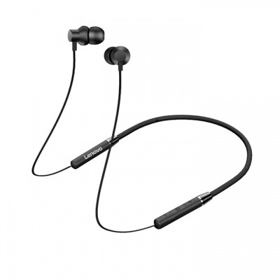 Lenovo Bluetooth Earphone HE05 - Μαύρο (PTM7C02253)