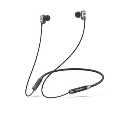 Lenovo Bluetooth Earphone(Double Coil)HE08 - Μαύρο (PTM7C02384)