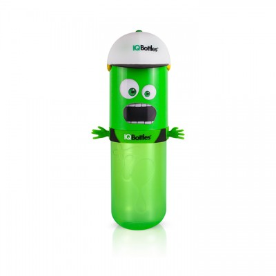 IQBottle Παιδικό Παγούρι 500ml- Green HomeBoy (IQBottleHomeboyGreen)