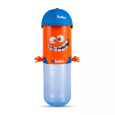 IQBottle Παιδικό Παγούρι 500ml - Orange HomeBoy (IQBottleHomeboyOrange)