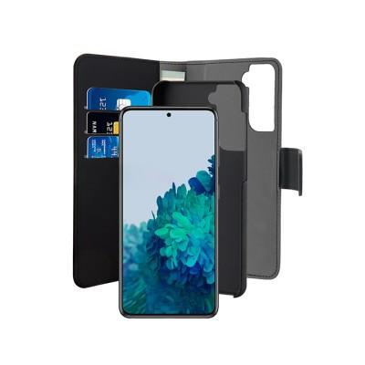 Puro Θήκη bookstyle για Galaxy S21 Plus - Mαύρο (SGS21PBOOKC3BLK)