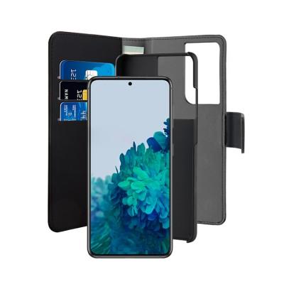 Puro Θήκη bookstyle για Galaxy S21 Ultra - Mαύρο (SGS21UBOOKC3BLK)