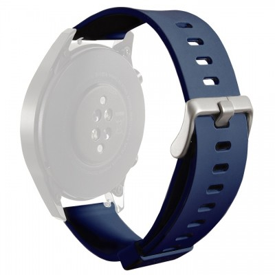 Puro Silicon Universal Wristband 22mm – Μπλε
