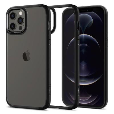 Spigen iPhone 12 / 12 Pro Ultra Hybrid Black (ΑCS01703)