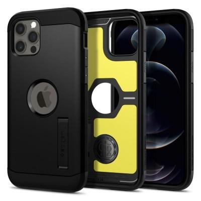 Spigen iPhone 12 / 12 Pro Tough Armor Black (ΑCS01710)