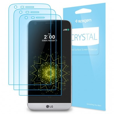 Spigen LG G5 Screen Protector Crystal (A18FL20124)