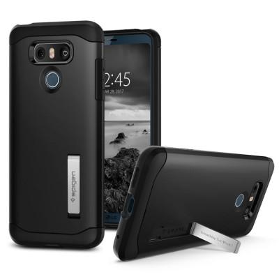 Θήκη Spigen LG G6 Slim Armor Black (A21CS21239)