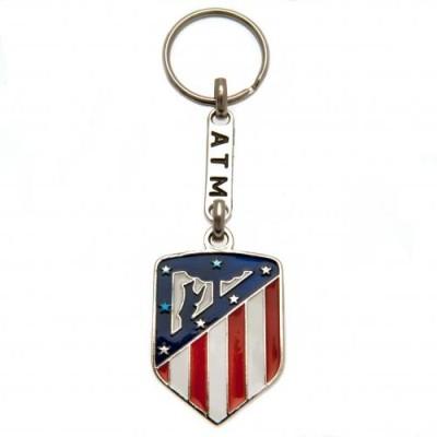 Μεταλλικό Μπρελόκ Atletico Madrid F.C - Επίσημο προϊόν