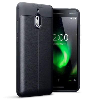 Terrapin Θήκη TPU Leather Design Nokia 2.1 - Black
