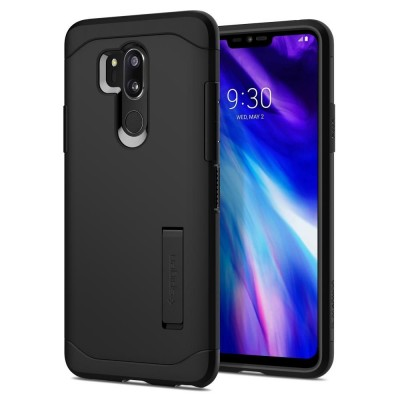 Θήκη Spigen LG G7 Thinq Slim Armor Black (A27CS23030)