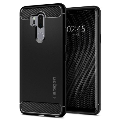 Θήκη Spigen LG G7 Thinq Rugged Armor Black (A27CS23033)