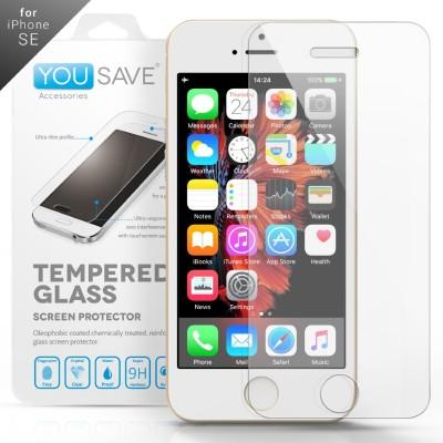 Αντιχαρακτικό Γυάλινο Screen Protector iPhone SE by Yousave