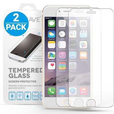 Αντιχαρακτικό Γυάλινο Screen Protector iPhone 6 Plus/ 6s Plus - 2 Τεμάχια