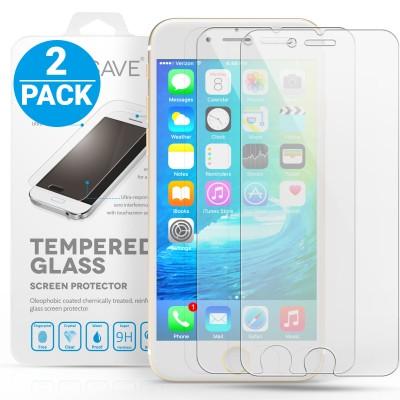 Αντιχαρακτικό Γυάλινο Screen Protector iPhone 6/6S - Twin Pack