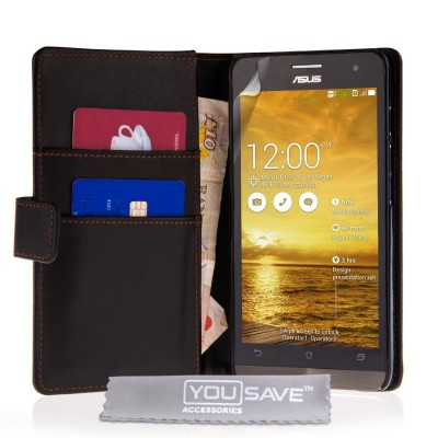 Θήκη- Πορτοφόλι για Asus Zenfone 5 by YouSave