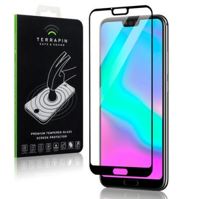 Terrapin Tempered Glass - Αντιχαρακτικό with Black Edge Γυαλί Οθόνης Huawei Honor 10