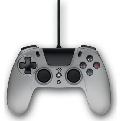 Gioteck Ενσύρματο Χειριστήριο VX4 Για Το Playstation 4 – Ασημί (VX4PS4-15-MU)
