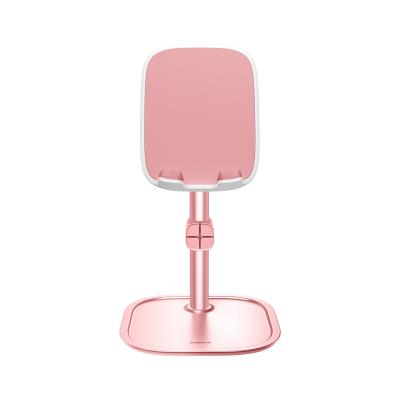 Baseus Universal Ρυθμιζόμενη Βάση για Smartphone / Tablet - Rose Gold (SUWY-0R)