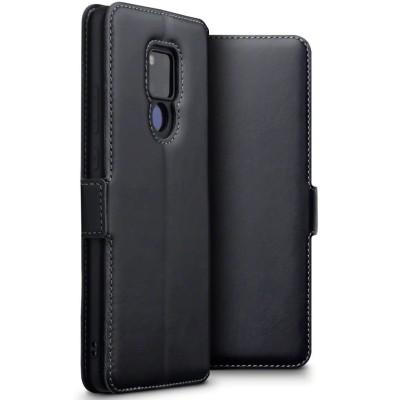 Terrapin Low Profile Δερμάτινη Θήκη - Πορτοφόλι Huawei Mate 20 X - Black