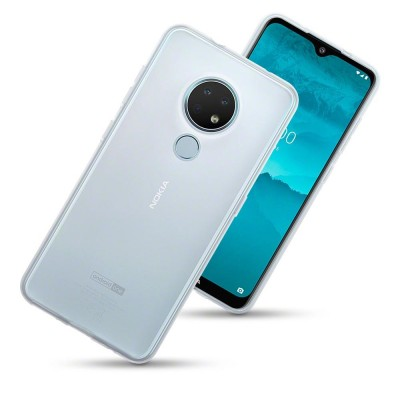 Terrapin Θήκη Σιλικόνης Nokia 6.2/7.2 - Clear (118-001-297)