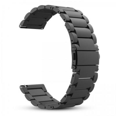Tech-Protect Μεταλλικό Λουράκι για Samsung Gear S3 / S3 Fontier - Black (200-103-639)