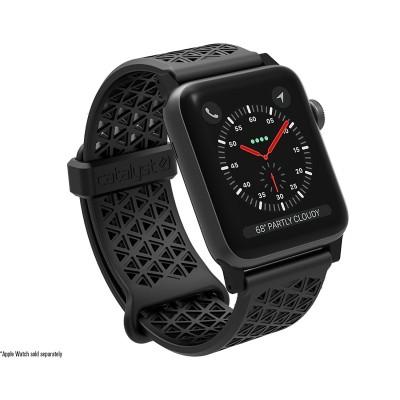 Catalyst Ανταλλακτικό Λουράκι Σιλικόνης Apple Watch 3/2/1 - 42mm - Black