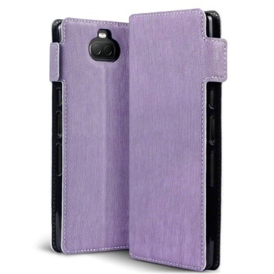 errapin Low Profile Θήκη - Πορτοφόλι Sony Xperia 10 Plus - Purple (117-005-652)