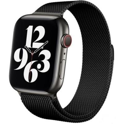 Crong Milano Steel - Premium Μεταλλικό Λουράκι Apple Watch SE/6/5/4/3 (40/38mm)