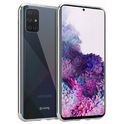 Προστατέψτε το αγαπημένο σας Samsung Galaxy A51, από χτυπήματα και γρατζουνιές με την διάφανη και λεπτή θήκη Slim Cover της Crong, με μόλις 0,8mm πάχος.