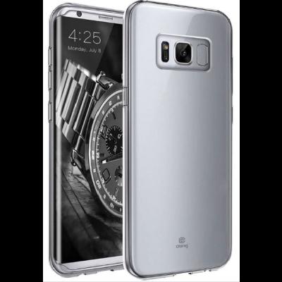 Crong Slim Διάφανη Θήκη Σιλικόνης Samsung Galaxy S8 - 0.8mm - Clear (CRG-CRSLIM-SGS8)