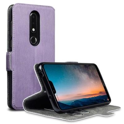 Terrapin Θήκη - Πορτοφόλι Nokia 6.1 Plus - Purple