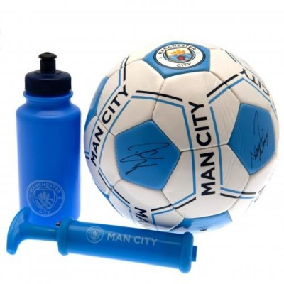 Σετ Αξεσουάρ Ποδοσφαίρου Manchester City F.C. - Επίσημο προϊόν