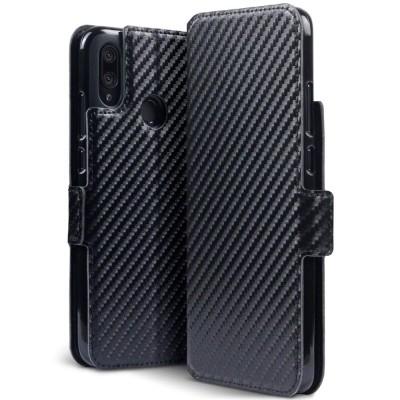 Terrapin Θήκη - Πορτοφόλι Huawei P Smart 2019 - Carbon Fibre Black (117-083-210)