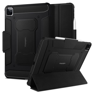 "Spigen Θήκη Rugged Armor Pro iPad Pro 11"" 2018 / 2020 - Black (ACS01024)"