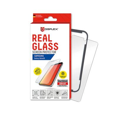 Displex Tempered Glass 3D Black - Αντιχαρακτικό Γυαλί Οθόνης Galaxy Note 20