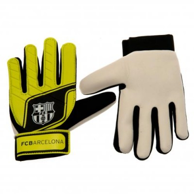 Γάντια Τερματοφύλακα Barcelona F.C παιδικά fluo