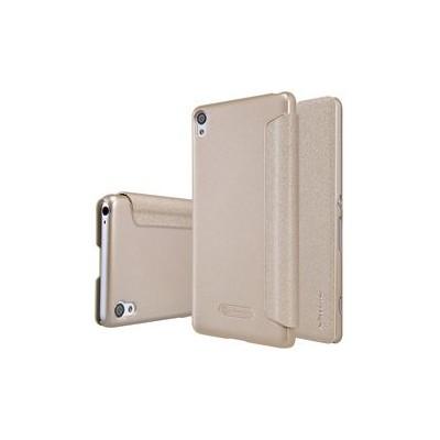 Nillkin Θήκη Sparkle Leather Flip για Xiaomi Redmi 4 Χρυσή
