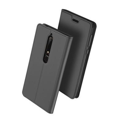Duxducis SkinPro Flip Θήκη Nokia 6 2018 - Grey
