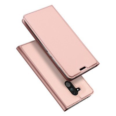 Duxducis SkinPro Flip Θήκη για Huawei Mate 20 Lite - Rose Gold