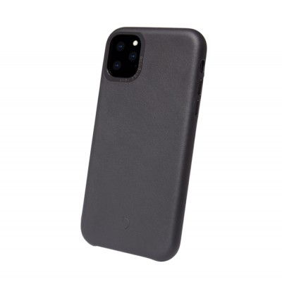 Decoded Leather Back Cover για το iPhone 11 Pro Max Black (200-108-153)