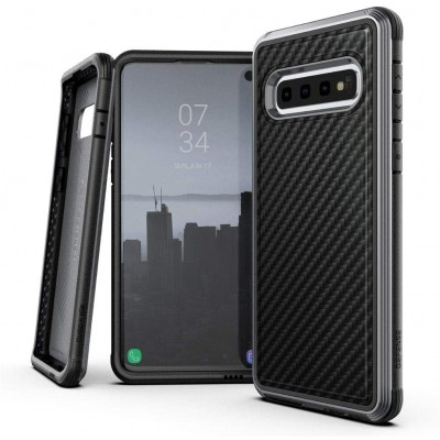 X-Doria Defense Lux Θήκη για Samsung Galaxy S10 - Black Carbon