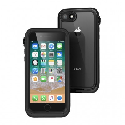 Catalyst Αδιάβροχη Θήκη iPhone 8/7 με TouchID - Stealth Black