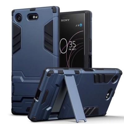 Terrapin Ανθεκτική Dual Layer Θήκη Sony Xperia XZ1 Compact - Blue