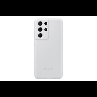Samsung Silicone Cover Galaxy S21 Ultra Light Gray (EF-PG998TJEGWW)