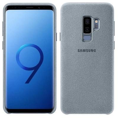 Samsung Official Alcantara Σκληρή Θήκη Samsung Galaxy S9 Plus - Grey (EF-XG965AMEGWW)
