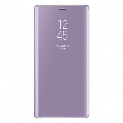 Samsung Official Clear View Standing Cover - Θήκη Flip με Ενεργό Πορτάκι Samsung Galaxy Note 9 - Lavender (EF-ZN960CVEGWW)