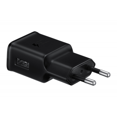 Samsung Fast Travel Charger 15W USB Black / No Cable (EP-TA20EBENGEU)