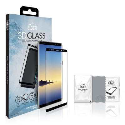 Eiger Galaxy Note 8 Case Friendly 3D GLASS (EGSP00143)